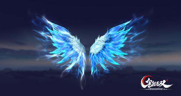 神秘梦幻的蓝色气息,薄如蝉翼的半透明质地,搭配上流光溢彩的华丽光效